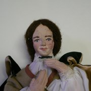 Cover image of JWIC: Dolls for Democracy figurine - Florence Nightingale. Biography is included.