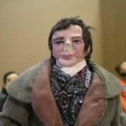 Cover image of JWIC: Dolls for Democracy figurine - Louis Braille. Biography is included.