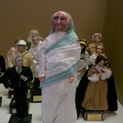 Cover image of JWIC: Dolls for Democracy figurine - Mother Theresa. 2 biographies included.