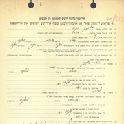 Cover image of BLANK, Chana - Ukrainian Jewish orphan case file