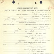 Cover image of CHORIN, Esther - Ukrainian Jewish orphan case file