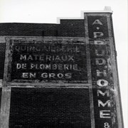 Cover image of Advertisment, A. Prudhomme & Fils Limitee, plumber and hardware, 338 Saint Antoine East, Montreal
