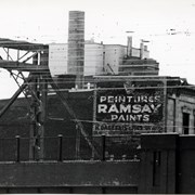 Cover image of Advertisment, Peinture Ramsay, H. Dagenais & Fils, Rodier building, 932 Note Dame West, Montreal