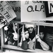 Cover image of Children hold picket signs at an unknown rally.