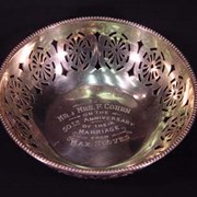 "Cover image of Commemorative Bowl - ""Mr. and Mrs. F. Cohen"""