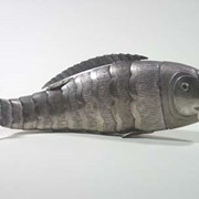 Cover image of Fish-shaped Spice Box